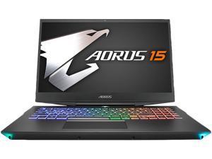 "Gigabyte Aorus 15-WA-F74ADW 15.6"" 144 Hz IPS Intel Core i7 9th Gen 9750H (2.60 GHz) NVIDIA GeForce RTX 2060 16 GB Memory 512 GB SSD Windows 10 Home 64-bit Gaming Laptop"