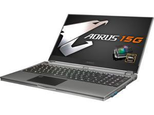 "Aorus 15G KB-8US2130MH 15.6"" 240 Hz Intel Core i7 10th Gen 10875H (2.30 GHz) NVIDIA GeForce RTX 2060 16 GB Memory 512 GB SSD Windows 10 Home 64-bit Gaming Laptop"