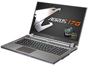 """Aorus 17G XB-8US2130MP 17.3"""" 240 Hz Intel Core i7 10th Gen 10875H (2.30 GHz) NVIDIA GeForce RTX 2070 SUPER Max-Q 16 GB Memory 512 GB SSD Windows 10 Pro 64-bit Gaming Laptop"""