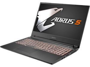 "Aorus 5 SB-7US1130SH 15.6"" 144 Hz IPS Intel Core i7 10th Gen 10750H (2.60 GHz) NVIDIA GeForce GTX 1660 Ti 16 GB Memory 512 GB SSD Windows 10 Home 64-bit Gaming Laptop"