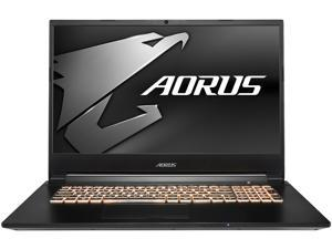 "Aorus 7 SA-7US1130SH 17.3"" 144 Hz IPS Intel Core i7 9th Gen 9750H (2.60 GHz) NVIDIA GeForce GTX 1660 Ti 16 GB Memory 512 GB PCIe SSD Windows 10 Home 64-bit Gaming Laptop"