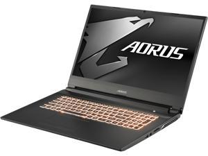 "Aorus 7 SA-7US1130SH 17.3"" 144 Hz IPS Intel Core i7 9th Gen 9750H (2.60 GHz) NVIDIA GeForce GTX 1660 Ti 16 GB Memory 512 GB PCIe SSD Windows 10 Home 64-bit Gaming Laptop"