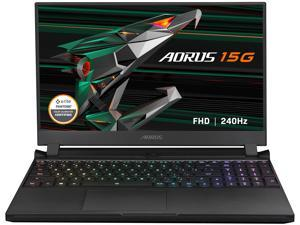 "GIGABYTE AORUS 15G - 15.6"" 240 Hz IPS - Intel Core i7-10870H - NVIDIA® GeForce RTX™ 3080 Laptop GPU 8GB GDDR6 - 32 GB Memory - 1 TB PCIe SSD - Windows 10 Home - Gaming Laptop (AORUS 15G YC-8US2450SH)"