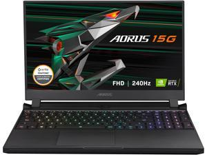 "GIGABYTE AORUS 15G YC - 15.6"" FHD IPS Anti-Glare 240Hz - Intel Core i7-10870H - NVIDIA GeForce RTX 3080 Laptop GPU 8GB GDDR6, 32GB RAM, 1TB SSD, Win10 Home - Gaming Laptop (AORUS 15G YC-8US2450SH)"