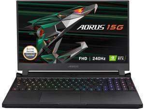 "GIGABYTE AORUS 15G KC - 15.6"" FHD IPS 240Hz - Intel Core i7-10870H - NVIDIA GeForce RTX 3060 Laptop GPU 6GB GDDR6 - 16GB Memory - 512GB SSD - Win10 Home - Gaming Laptop (AORUS 15G KC-8US2130SH)"