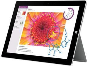 "Microsoft Surface 3 7G5-00001 Intel Atom x7-Z8700 (1.60 GHz) 2 GB Memory 64 GB SSD 10.8"" Touchscreen 1920 x 1280 Tablet Windows 8.1 64-Bit"