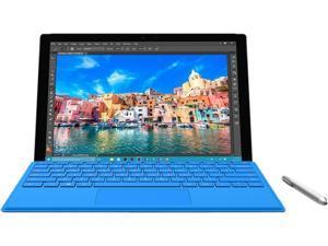 "Microsoft Surface Pro 4 SU9-00001 Tablet Intel Core i7 6600U (2.60 GHz) 8 GB Memory 256 GB SSD Intel HD Graphics 520 12.3"" 2736 x 1824 Touchscreen Windows 10 Pro With Pen"