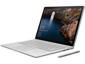 "Microsoft Surface Book CR9-00001 Intel Core i5 6th Gen 6300U (2.40 GHz) 8 GB Memory 128 GB SSD Intel HD Graphics 520 13.5"" Touchscreen 3000 x 2000 Detachable 2-in-1 Laptop Windows 10 Pro 64-Bit"