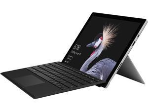 """Microsoft Surface Pro Bundle HGH-00001 - Intel Core i5 7th Gen 4 GB Memory 128 GB SSD 12.3"""" Touchscreen 2736 x 1824 2-in-1 Tablet Windows 10 Pro 64-Bit with Black Type Cover"""