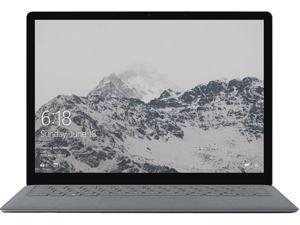 "Microsoft Laptop Surface Laptop JKQ-00001 Intel Core i7 7th Gen 7660U (2.50 GHz) 8 GB Memory 256 GB SSD Intel Iris Plus Graphics 640 13.5"" Touchscreen Windows 10 Pro 64-bit"