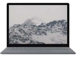 "Microsoft Surface Laptop Intel Core i7 7th Gen 7660U (2.50 GHz) 16 GB Memory  512 GB SSD Intel Iris Plus Graphics 640 13.5"" Touchscreen Windows 10 S - Platinum"