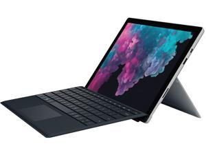 "Microsoft Surface Pro 6 NKR-00001 2-in-1 Laptop Intel Core i5-8250U 1.60 GHz 12.3"" Windows 10 Home 64-bit - With Keyboard - Black"