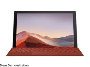 """Microsoft Surface Pro 7 - 12.3"""" Touch-Screen - Intel Core i5 - 8 GB Memory - 256 GB Solid State Drive (Latest Model) - Platinum"""