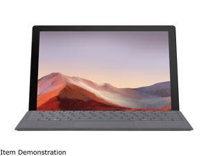"""Microsoft Surface Pro 7 - 12.3"""" Touch-Screen - Intel Core i5 - 8 GB Memory - 256 GB Solid State Drive (Latest Model) - Matte Black"""