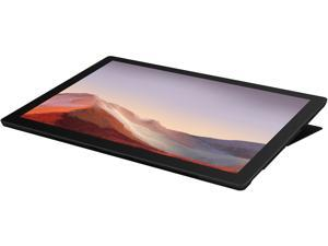 """Microsoft 12.3"""" Surface Pro 7 2-in-1 Touchscreen, Intel Core i5-1035G4 1.1 GHz, 16 GB RAM, 256 GB SSD, Windows 10 Home, Black Bundle, Bundle with Surface Pro Type Cover"""