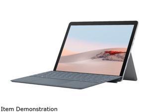 "Microsoft Surface Go 2 STW-00001 Intel Pentium Gold 4425Y (1.70 GHz) 4 GB Memory 64 GB eMMC Intel UHD Graphics 615 10.5"" Touchscreen 1920 x 1280 Detachable 2-in-1 Laptop Windows 10 S"