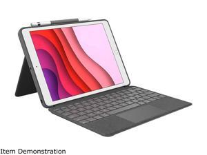Logitech iPad Case with Backlit Keyboard, Trackpad, and Smart Connector for iPad 7th Gen (2019), 8th Gen (2020) - (920-009608)
