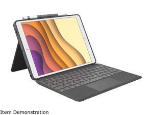 Logitech iPad Case with Backlit Keyboard, Trackpad, and Smart Connector for iPad Air 3rd Gen (2019), iPad Pro 10.5 inch (2017) - (920-009610)