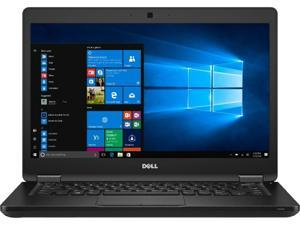 """Dell 5480 Laptop Intel Core i5-6200U 2.3 GHz, 8 GB, 512 GB SSD, 14"""", HD, Windows 10 Pro 64-bit, CAM A Grade"""