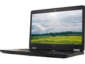 """DELL Grade A Laptop Latitude E5470 Intel Core i5 6th Gen 6440HQ (2.6 GHz) 8 GB Memory 240 GB SSD Intel HD Graphics 530 14.0"""" Windows 10 Pro 64-bit"""