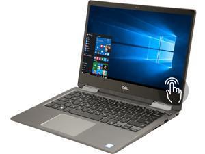 "DELL i7373-5397GRY-PUS Intel Core i5 8th Gen 8250U (1.60 GHz) 8 GB Memory 256 GB SSD 13.3"" Touchscreen 1920 x 1080 IPS Truelife 2-in-1 Laptop Windows 10 Home 64-bit"