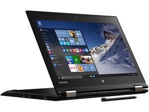 "Lenovo Yoga 12 Laptop Intel Core i7 5500U (2.40 GHz) 8 GB Memory 256 GB SSD 12.5"" Windows 10 B Grade"
