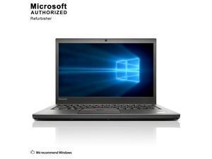 "Lenovo Grade A Laptop ThinkPad T450 Intel Core i5 5th Gen 5300U (2.30 GHz) 8 GB Memory 512 GB SSD Intel HD Graphics 5500 14.0"" Windows 10 Pro 64-bit"