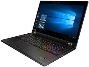 "Lenovo ThinkPad P53 Mobile Workstation - Intel Six Core i7-9750H, 16GB RAM, 512GB PCIe NVMe SSD, 15.6"" HDR 400 FHD IPS 500nits Display, NVIDIA Quadro T2000 4GB Graphics, Windows 10 Pro"