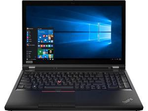"Lenovo ThinkPad P53 20QN001YUS Mobile Workstation Intel Core i7 9th Gen 9750H (2.60 GHz) 16 GB Memory 512 GB SSD NVIDIA Quadro T1000 15.6"" Windows 10 Pro 64-bit"