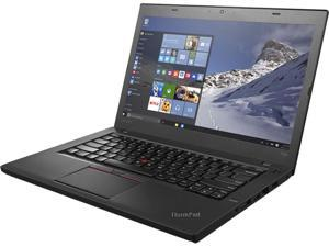 "Lenovo Grade A Laptop ThinkPad T460 Intel Core i5 6th Gen 6300U (2.40 GHz) 8 GB Memory 1 TB HDD Intel HD Graphics 520 14.0"" Windows 10 Home 64-bit"