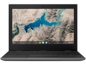 "Lenovo 100e Chromebook 2nd Gen 81QB000AUS Chromebook MTK MT8173C (2.1 GHz) 4 GB Memory 16 GB eMMC 11.6"" Chrome OS"