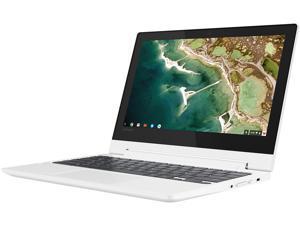 "Lenovo C330 Flip Chromebook MediaTek MTK MT8173C 2.10 GHz 4 GB Memory 64 GB eMMC PowerVR GX6250 11.6"" Chrome OS Thin and Light Touchscreen Laptop 81HY0000US"