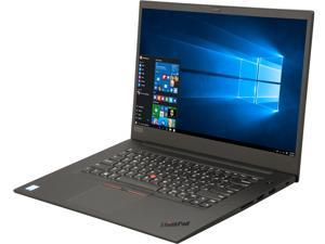 "Lenovo Laptop ThinkPad X1 Extreme 20MF000LUS Intel Core i7 8th Gen 8750H (2.20 GHz) 16 GB Memory 512 GB SSD NVIDIA GeForce GTX 1050 Ti 15.6"" Windows 10 Pro 64-Bit"