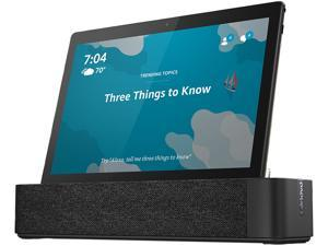 "Lenovo Smart Tab TB-X605F ZA480121US Tablet - 10.1"" - 2 GB LPDDR3 - Qualcomm Snapdragon 450 - ARM Cortex A53 Octa-core (8 Core) 1.80 GHz - 16 GB - Android 8.0 Oreo - 1920 x 1200 - In-plane Switchin..."