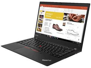 "Lenovo ThinkPad T490s 20NX001WUS 14"" Notebook - 1920 x 1080 - Core i7 i7-8565U - 8 GB RAM - 256 GB SSD - Black"