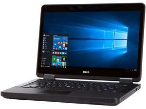"DELL Laptop E5440 Intel Core i5 4th Gen 4300U (1.90 GHz) 8 GB Memory 128 GB SSD 14.0"" Windows 10 Pro 64-Bit"