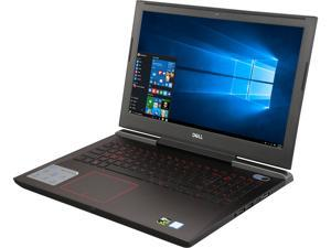 "DELL i7577-7289BLK 15.6"" 4K/UHD GTX 1060 6 GB VRAM i7-7700HQ 16 GB Memory 1 TB HDD + 512 GB SSD Windows 10 Home Gaming Laptop"