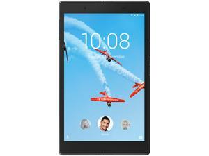 "Lenovo Tab 4 8 ZA2B0009US Qualcomm Snapdragon 1.40 GHz 2 GB Memory 16 GB Flash Storage 8.0"" 1280 x 800 Tablet PC Android 7.1 (Nougat) Slate Black"