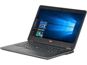 """DELL Latitude E7440 Laptop Intel Core i5 4th Gen 4300U (1.90 GHz) 8 GB Memory 256 GB SSD 14.0"""" Windows 10 Pro 64-bit Grade A"""