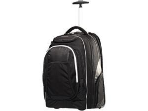 "Samsonite Tectonic Carrying Case (Rolling Backpack) for 15.6"" Notebook, Travel Essential - Black, Gray"