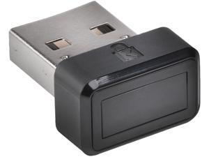 Kensington VeriMark Fingerprint Key USB Dongle, Reader FIDO U2F for Universal 2nd Factor Authentication & Windows Hello (K67977WW)