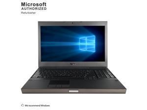 """Refurbished Dell Precision M4600 15.6"""" Intel Core i7-2720QM 2.20GHz 8GB DDR3 500GB HDD DVD Windows 10 Professional 64 Bits 1 Year Warranty"""