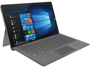 "TrekStor PRIMETAB T13B Intel Pentium N4200 (1.1 GHz) 4 GB Memory 64 GB SSD Intel HD Graphics 500 13.3"" Touchscreen 1920 x 1080 Detachable 2-in-1 Laptop Windows 10 Home 64-bit"