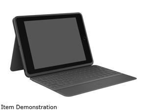 Logitech Rugged Folio Keyboard Case with Drop Protection for iPad (7th Gen)