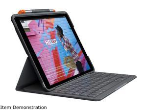 Logitech iPad Keyboard Case Slim Folio for iPad Air 3rd Gen (2019), iPad Pro 10.5 inch (2017) - Graphite (920-009482)