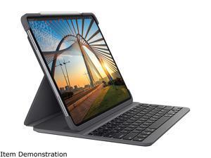 Logitech iPad Keyboard Case SLIM FOLIO PRO for iPad Pro 12.9-inch 3rd Gen (2018), 4th Gen (2020) - (920-009703)