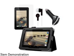 Mgear Folio Case with Screen Protector, Earphones, and Car Charger for Acer Icon ACER-ICONIA-B1-COMBO-2-BNDL