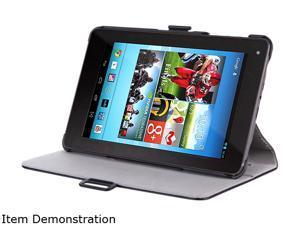 i-blason Book Shell Stand Case for Hisense Sero 7 LT with Bonus Stylus Sero7LT-Heated-Black