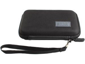Secure-Fit Hard Shell GPS Case by USA Gear - Works With 5-inch and 4.3-inch Garmin nuvi, Magellan Roadmate, TomTom GO and More Portable GPS Navigation Units