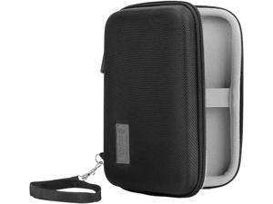 Hard Shell Electronics Case by USA Gear- Holds Cables , Chargers , GPS , Smartphones , Hard Drives
